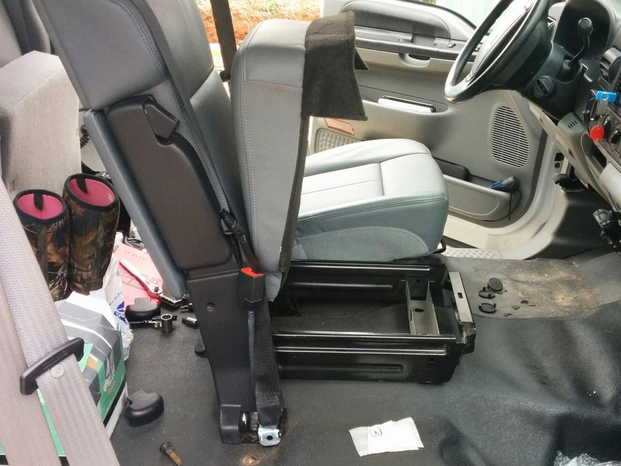 1999 2007 Ford Super Duty Seat Replacement